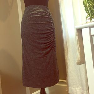 Ann Taylor Ruched Skirt